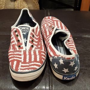 Keds Chillax American Flag Sneakers